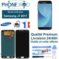 Écran complet LCD + Tactile Samsung J7 2017 Noir Qualité OLED + Outils, stock FR