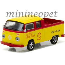 GREENLIGHT 29860 F 1976 VOLKSWAGEN T2 TYPE 2 DOUBLE CAB PICK UP SHELL OIL 1/64
