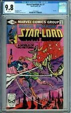 MARVEL SPOTLIGHT #v2 #7 CGC 9.8 WP STAR-LORD New CGC Case MARVEL COMICS 1980