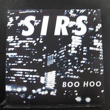 "Sirs - Boo Hoo 12"" EP 45 RPM Mint- Chicago Rock Vinyl Record w/Mp3"