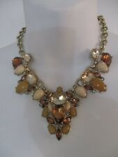 Lee By Lee Angel Mixed Crystal Ornate Statement Necklace NWT $138 Nordstrom