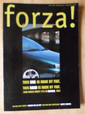 FIAT FORZA 1997 UK Mkt magazine brochure - Punto Aero History