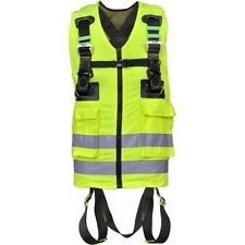 KRATOS 'Hi-Vis' 2 Point Full Body Safety/Fall Arrest Harness Height Safety EN361