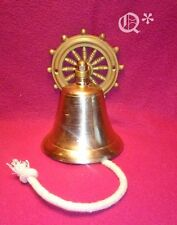 Solid Brass Shipboard Decorative Bell