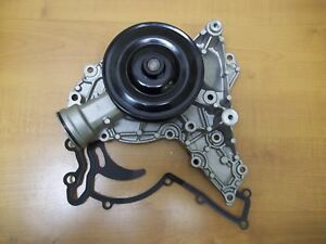 Water Pump For Mercedes Benz W219 W212  W164 W221 New HD With Metal Pulley 273