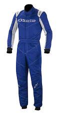 Alpinestars GP Start Suit FIA 2-Layer Rally Race Brisca Drift Blue Size 48 EU48