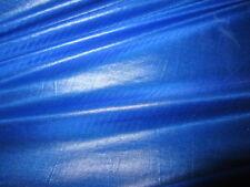 """Sensación de seda de 60"""" 10mts Azul Rip Stop cometa o paracaídas Nylon Tela Impermeable"""