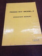 FANUC OPERATORS FANUC LOT MODEL F B54884E/03
