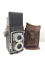 WELMYFLEX Extremely Rare Vintage JAPAN TLR TWIN LENS REFLEX CAMERA 120 Film 6x6