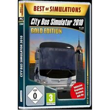 PC Spiele, Spiel City Bus Simulator 2010 Gold Edition Neu