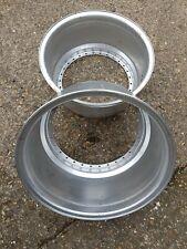 "pair 16"" compomotive split rim barrel 30 hole 16x8  inner cxn tfn ps revolution"