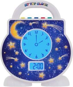 My Tot Clock Digital All-in-One Toddler Sleep Aid, Nightlight, Alarm, Nap Timer