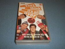 THEY THINK ITS ALL OVER - VIDEO - BRAND NEW STILL SEALED - SPECIAL EDITION