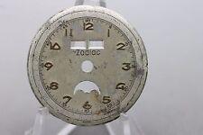 Vintage Original Zodiac Calendar Moonphase Wrist Watch Dial Spare Part