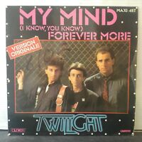 """Twilight – My Mind / Forever More (Vinyl 12"""", Maxi 45 Tours)"""