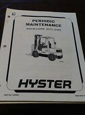 Periodic Maintenance Manual S/H2.00-3.20XM (H177, D187)
