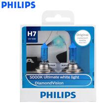 2X Philips H7 12972DV Diamond Vision Car Head Light 5000K White Bulbs, US Seller