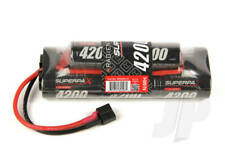 Superpax 8 Cell SC 4200mAh 9.6V NiMH 6+2 Hump Battery Pack Deans T-style Plug