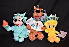 Disney Looney Tunes Beanie Babies Plush New York Scooby Tweety Minnie Htf Nwt