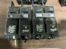 Lot Of 2 Gould Bq 220 Circuit Breakers B35