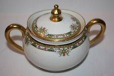 Limoges Vignaud P&P Sugar Bowl with Lid