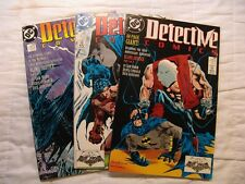 DC Detective Comics # 598-600 - Blind Justice COMPLETE SET - Batman by Sam Hamm!