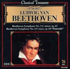 "Beethoven: Symphonies Nos. 5 & 6 ""Pastorale"" (CD, Aug-1999, Madacy)"