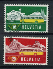 Switzerland 1953 SG#547-8 Mobile PO Issue Used Set #A73389