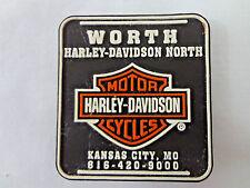 Collectible Harley Davidson North Refrigerator Magnet Kansas City MO