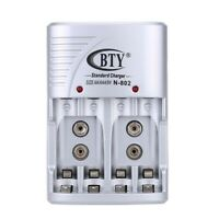 1X(BTY Chargeur de Piles rechargeables AA / AAA 14500 10440 Ni-MH / Ni-Cd cha vm