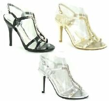 Women's Synthetic Ankle Straps Formal Sandals & Beach Shoes