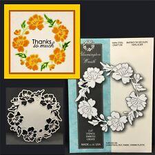 Bloomington Wreath metal die Memory Box dies 99006 flowers,leaves,christmas