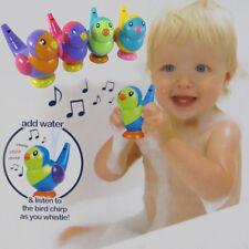Lk _2 en 1 Bébé Tout-Petits Oiseau Eau Sifflet Enfants Bain Jouet Cadeau Rakish