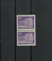 Germany Berlin 1956 Michel 152 MNH Vertical Pair from Sheets exp. SCHLEGEL BPP