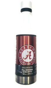 Alabama Crimson Tide Universal Ultra Water Drink Bottle Stainless Steel 25oz