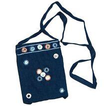 Jeans Beuteltasche Umhängebeutel Umhängetasche Schulterbeutel Schultertasche 54