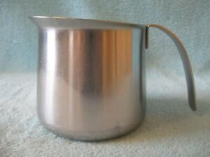 KRUPS #18-8 20 oz Cappuccino Milk Frothing Pitcher Stainless Steel
