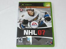NHL 07 Microsoft Xbox, 2006 XBXO Live Online Enabled video game E-Everyone