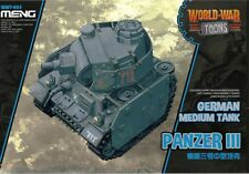 Meng Model WWT-005 German Medium Tank Panzer III (Q Edition)