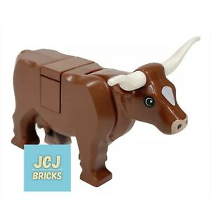 LEGO Brown Cow with Long Horn / Farm Animal Cattle10193