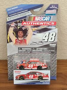 2014 #48 Jimmie Johnson Lowe's Red Vest Texas Win Spinmaster 1/64 NASCAR Diecast