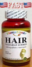 Vitamin Friends Hair, Skin & Nails Gummies Natural Berry Flavor Vegetarian
