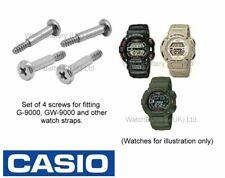 Genuine Casio Screw Set G-9000, G-9010, GW-9000 & GW-900 Watch Strap Band -Qty 4