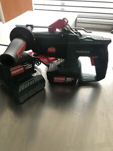Marteau Perforateur Metabo KHA18LTX 18v Avec 2 Batteries 4Ah Et Un Chargeur