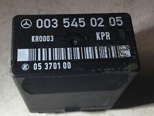 Kraftstoffpumpenrelais Mercedes G  W461 230GE M102 Motor 4.Zylinder A0035450205
