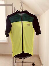 Pearl Izumi Elite Cycling Kit Jersey & Bib Men's Sz Medium Blk/Flu/Grn