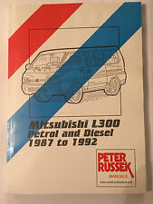 MITSUBISHI L300 DELICA 1600 Petrol 2500 diesel engines WORKSHOP MANUAL 1987-1992