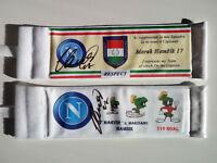 Napoli Hamsik Armband Signed - il sorpasso a Maradona 116 goal in Omaggio