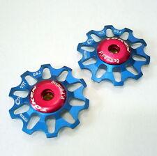 TOKEN TK1701 CAMPY Rear Derailleur Jockey wheel / Pulley, 10T, Blue, A54