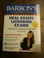 Barron's Real Estate Licensing Exams : Salesperson, Broker, Appraiser: Includ...
